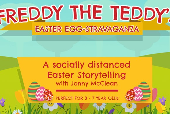 Freddy The Teddy's Easter Egg-stravaganza